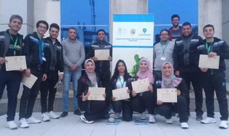 جامعة قناة السويس تشارك بوفد طلابي بالمعسكر التوعوي لشباب الجامعات بالمركز الأوليمبي بالمعادي